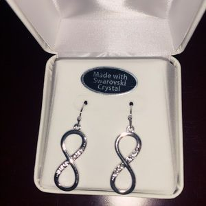 Swarovski eternity earrings